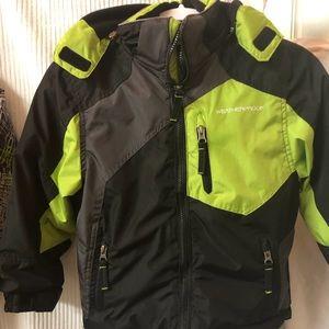Weatherproof Boys 3 in 1 Snowboard Coat sizeXS 5/6